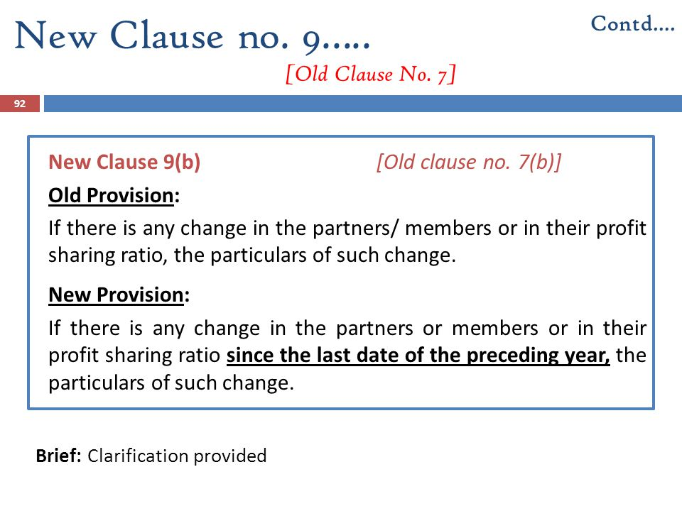 New Clause no. 9….. [Old Clause No. 7]